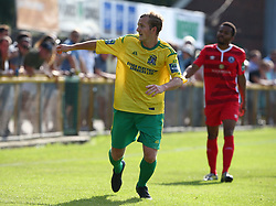 August 28, 2017 - London, United Kingdom - Ronnie Winn of Thurrock FC.during Bostik League Premier Division match between Thurrock vs Billericay Town at  Ship Lane Ground, Aveley on 28 August 2017  (Credit Image: © Kieran Galvin/NurPhoto via ZUMA Press)