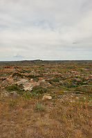 Painted Canyon Overlook Panorama. Theodore Roosevelt National Park. Image 3 of 6 taken with a Nikon D3x camera and 24 mm f/1.4 lens (ISO 100, 24 mm, f/16, 1/50 sec). Raw image processed with Capture One Pro and composite generated using AutoPano Giga Pro.