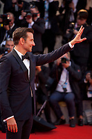 Director Bradley Cooper  at the premiere gala screening of the film A Star is Born at the 75th Venice Film Festival, Sala Grande on Friday 31st August 2018, Venice Lido, Italy.