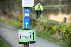 Sign for Incredible Edible on route 66 of the National Cycle Network