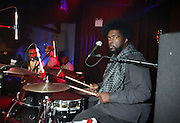 Questlove performs at The ROOTS Present the Jam Produced by Jill Newman Productions on March 19, 2009 held at Highline Ballroom in New York City.