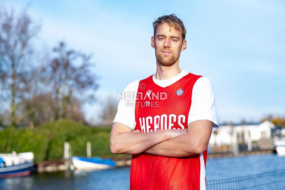 10-12-2019: Basketbal: Henk Norel: Vinkeveen<br /> # Henk Norel