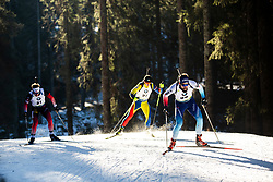 Fabien Claude (FRA) during the Men 20 km Individual Competition at day 1 of IBU Biathlon World Cup 2019/20 Pokljuka, on January 23, 2020 in Rudno polje, Pokljuka, Pokljuka, Slovenia. Photo by Peter Podobnik / Sportida
