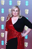 Rebel Wilson, EE British Academy Film Awards, Royal Albert Hall, London, UK, 02 February 2020, Photo by Richard Goldschmidt
