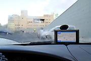 GPS unit in a car