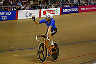 Men Omnium, Elia Viviani (Italy) silver medal, during the Track Cycling European Championships Glasgow 2018, at Sir Chris Hoy Velodrome, in Glasgow, Great Britain, Day 3, on August 4, 2018 - Photo Luca Bettini / BettiniPhoto / ProSportsImages / DPPI
