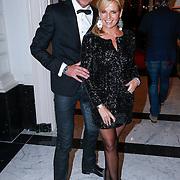 NLD/Amsterdam/20121112 - Beau Monde Awards 2012, Marika de Zwart en kapper Rene Boelhouwer