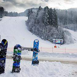20140126: SLO, Alpine Ski - Course Vitranc week before 50th Golden Fox 2014