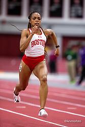 Harvard University<br /> Crimson Elite Indoor track & field meet<br /> women 60m qualifying