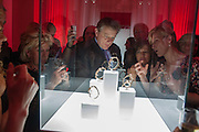 MARK TOULSON, Cartier Tank Anglaise launch. Kensington Palace Orangery, London.  19 April 2012.