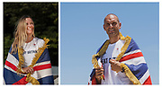 Hannah Mills, Women's 470 class Sailing, and Mohamed Sbihi, Men's eight Rowing, announced as Team GB's flagbearers for Team GB Tokyo 2020 opening ceremony, Japan.