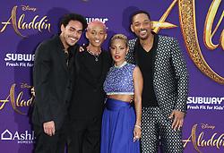 "Premiere Of Disney's ""Aladdin"" at El Capitan Theatre in Hollywood, California on 5/21/19. 21 May 2019 Pictured: Trey Smith, Jaden Smith, Jada Pinkett Smith, Will Smith. Photo credit: River / MEGA TheMegaAgency.com +1 888 505 6342"