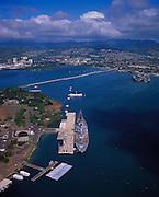 USS Missouri, Pearl Harbor, Honolulu, Oahu, Hawaii, USA<br />