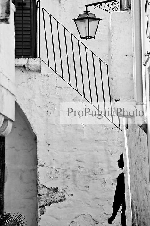 Cisternino - Profilo sotto la scala - 10 aprile 2011