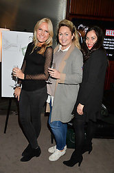 Left to right, CHRISSIE REEVES, ? & ? at a screening of Paramount Pictures 'Allied' hosted by Rosie Nixon of Hello! Magazine at The Bulgari Hotel, 171 Knightsbridge, London on 23rd November 2016.