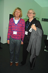 Artist GRAYSON PERRY and his wife PHILLIPPA at the opening of Frieze Art Fair 2007 held in regent's Park, London on 10th October 2007.<br /><br />NON EXCLUSIVE - WORLD RIGHTS