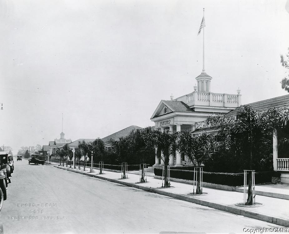 1923 Metro Studios on Romaine St. in Hollywood
