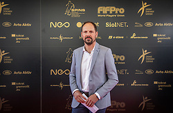 Ante Simundza during SPINS XI Nogometna Gala 2019 event when presented best football players of Prva liga Telekom Slovenije in season 2018/19, on May 19, 2019 in Slovene National Theatre Opera and Ballet Ljubljana, Slovenia. ,Photo by Urban Meglic / Sportida