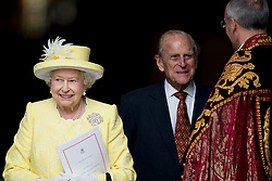 Buckingham Palace has announced Prince Philip, The Duke of Edinburgh, has passed away age 99 - FILE - Queen Elizabeth, Prince Philip the Duke of Edinburgh, Charles The Prince of Wales and the Camilla Duchess of Cornwall, William and Kate The Duke and Duchess of Cambridge, Prince Harry, Princess Anne Princess Royal and Timothy Lauwrence, Prince Andrew the Duke of York, Prince Edward and Princess Sophie The Earl and Countess of Wessex, Princess Beatrice and Princess Eugenie attend the service of thanksgiving during the 90th birthday celebrations of Queen Elizabeth at St Paul's cathedral in London, UK on June 10, 2016. Photo by Robin Utrecht/ABACAPRESS.COM