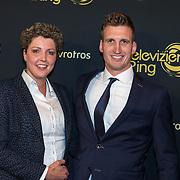 NLD/Amsterdam/20191009 - Uitreiking Gouden Televizier Ring Gala 2019, , Boerin Steffi en Roel