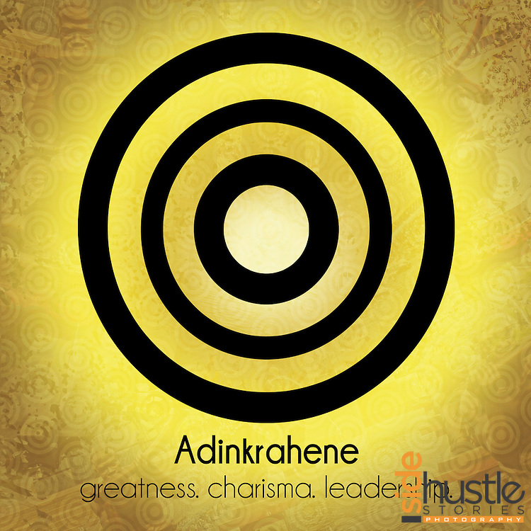 """Adinkrahene: greatness. charisma. leadership. <br /> <br /> This brown and gold poster symbol features the Adinkra symbol Adinkrahene, which is a symbol of leadership and authority. The literal translation* of the word Adinkrahene in Akan is """"King of the Adinkra Symbols"""", but the symbolic meaning of Adinkrahene can not be limited to a single word. Adinkra symbols are West African designs that have represented elements of Ghanaian values and culture for hundreds of years. <br /> <br /> <br /> *Literal translation from the book: """"The Adinkra Dictionary - A Visual Primer on the Language of Adinkra"""" and my parents. Akan (or Twi) is spoken in both Ghana and Côte d'Ivoire"""