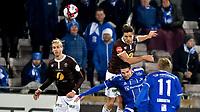 Fotball, 27. oktober  2019 , Eliteserien , Mjøndalen - Sarpsborg 0-0<br /> Sondre Solholm Johansen , MIF<br /> Kyle Lafferty , S08<br /> Quint Jansen , MIF