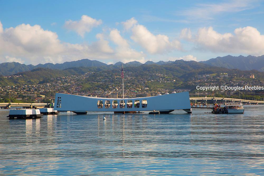 USS Arizona Memorial, Ford Island, Pearl Harbor, Oahu, Hawaii
