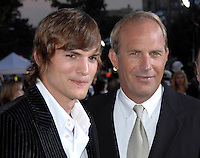 Ashton Kutcher, Kevin Costner