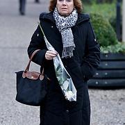 NLD/Amsterdam/20111221 - Uitvaart Olga Madsen, Bruni Heinke