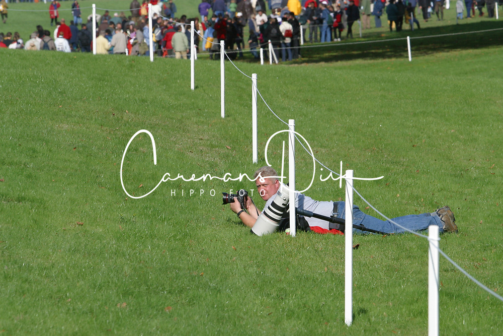 Caremans Dirk, BEL<br /> World Championship Young Eventing Horses<br /> Le Lion d'Angers 2002<br /> © Hippo Foto <br /> 19/10/02