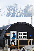 Former British Base A is now run by the Antarctic Heritage Trust, Port Lockroy, on Goudier Island, Antarctica.