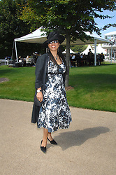 MRS GAVIN BURKE, she is actress Nimmy March at the 4th day of the Glorious Goodwood racing festival 2007 held at Goodwood Racecourse, West Sussex on 3rd August 2007.<br /><br />NON EXCLUSIVE - WORLD RIGHTS
