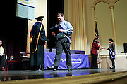 SHOT 5/10/15 3:09:06 PM - Naropa University Spring 2015 Commencement ceremonies at Macky Auditorium in Boulder, Co. Sunday. Parker J. Palmer, a world-renowned author and activist known for his work in education and social change, delivered the commencement speech to more than 300 graduate and undergraduate students along with Naropa faculty and graduate's family members. Naropa University is a private liberal arts college in Boulder, Colorado founded in 1974 by Tibetan Buddhist teacher and Oxford University scholar Chögyam Trungpa. (Photo by Marc Piscotty / © 2014)