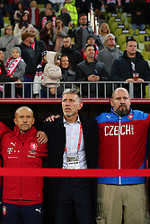 November 15, 2018 - Gdansk, Pomorze, Poland - Coach Jaroslav Silhavy during the international friendly soccer match between Poland and Czech Republic at Energa Stadium in Gdansk, Poland on 15 November 2018  (Credit Image: © Mateusz Wlodarczyk/NurPhoto via ZUMA Press)