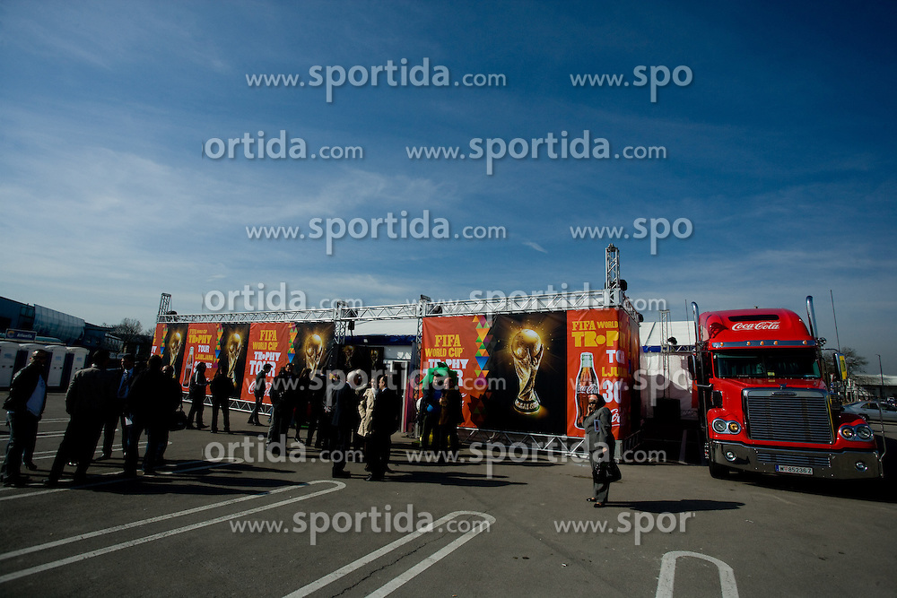 VIP reception of FIFA World Cup Trophy Tour by Coca-Cola, on March 29, 2010, in BTC City, Ljubljana, Slovenia.  (Photo by Vid Ponikvar / Sportida)