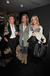 Left to right, Lady Rathcavan, Antonia Davies and Sophia Davies at a screening hosted by 'The Volunteer' of a documentary film of work in Haiti, held at the Courthouse Hilton Hotel, 19-21 Great Malborough Street, London on 29th March 2011.