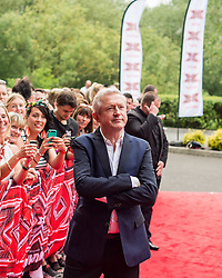 X Facor judge Louis Walsh at the X Factor auditions held at the Leicester City's King Power Stadium<br /> <br /> (c) John Baguley | Edinburgh Elite media