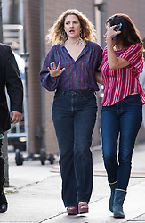 Drew Barrymore is seen at 'Jimmy Kimmel Live' with daughters Olive and Frankie in Los Angeles, California. NON EXCLUSIVE June 21, 2018. 21 Jun 2018 Pictured: Drew Barrymore. Photo credit: RB/Bauergriffin.com/MEGA TheMegaAgency.com +1 888 505 6342