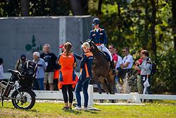 Kluytmans Ilonka, NED, Image of Roses<br /> European Championship Eventing<br /> Luhmuhlen 2019<br /> © Hippo Foto - Dirk Caremans