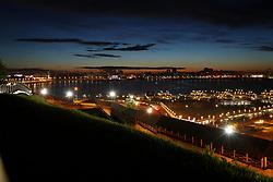 June 24, 2017 - Visão da cidade de Kazan às margens do rio Volga, neste sábado, (24), a cidade é uma das 4 sedes da Copa das Confederações FIFA 2017 na Rússia. (Credit Image: © Heuler Andrey/Fotoarena via ZUMA Press)