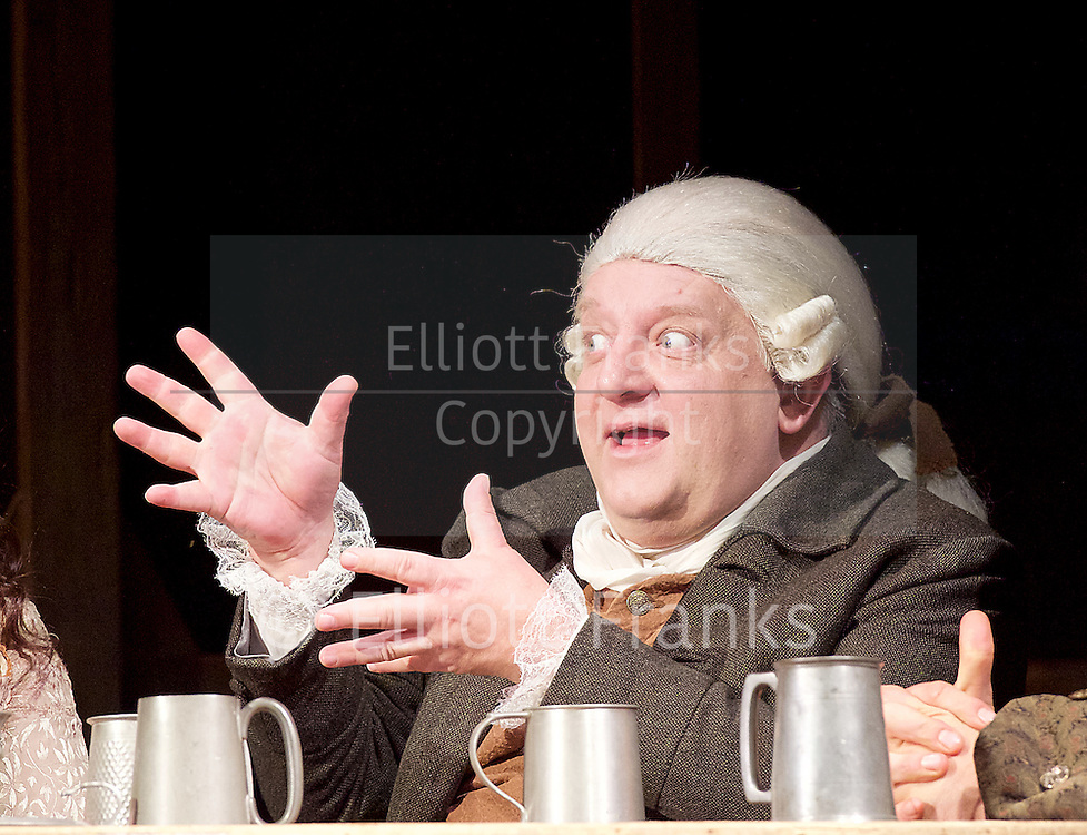 Mr Foote's Other Leg <br /> by Ian Kelly <br /> at Theatre Royal Haymarket, London, Great Britain <br /> press photocall<br /> 30th October 2015 <br /> <br /> <br /> <br /> Simon Russell Beale as Samuel Foote <br /> <br /> <br /> <br /> Photograph by Elliott Franks <br /> Image licensed to Elliott Franks Photography Services