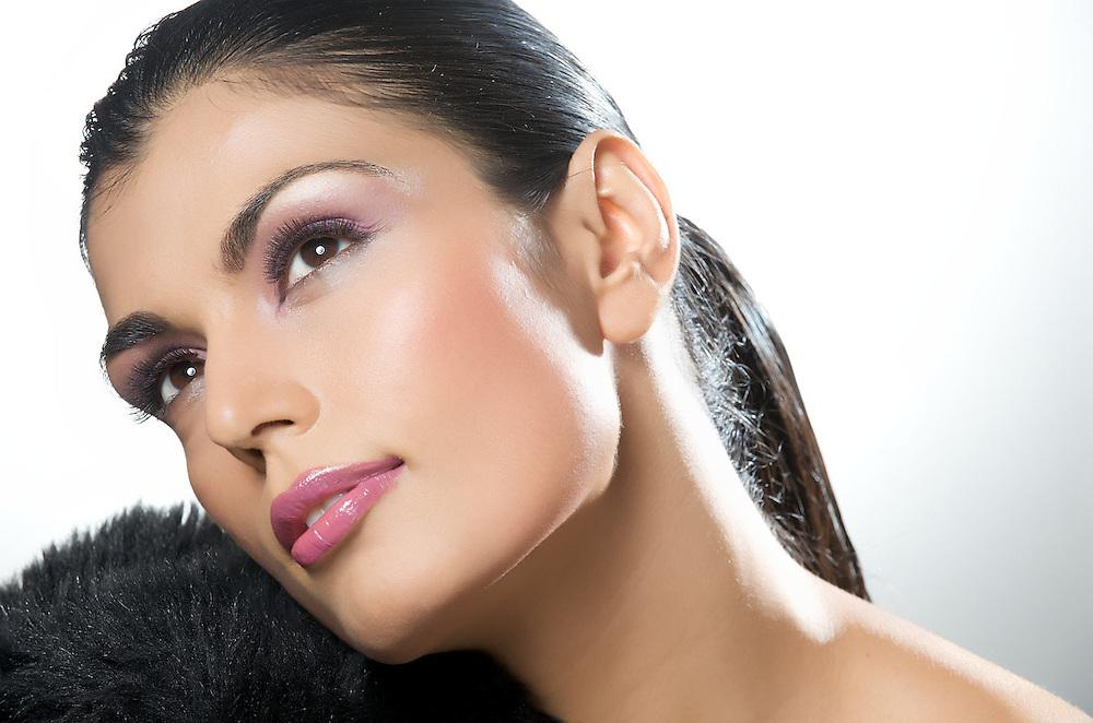 Beauty shot of Sonya Kapoor. Make up by Sharad Pawar