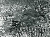 1935 Aerial of Gilmore Stadium