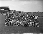 01/09/1957<br /> 09/01/1957<br /> 1 September 1957<br /> All-Ireland Minor Final: Tipperary v Kilkenny at Croke  Park, Dublin. Tipperary Team.