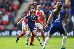 Francesca Kirby of Chelsea Ladies in action - Mandatory byline: Jason Brown/JMP - 14/05/2016 - FOOTBALL - Wembley Stadium - London, England - Arsenal Ladies v Chelsea Ladies - SSE Women's FA Cup