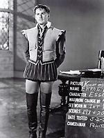 1939 Errol Flynn's wardrobe test at Warner Bros. studio
