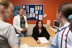 A group of people involved in the Substance Misuse project in Nottingham,