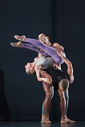 © Licensed to London News Pictures. 28/01/2016. London, UK. Outlier by Company Wayne McGregor. Photocall for Sampled at Sadler's Wells Theatre. Sampled features a wide variety of dance, from classical ballet to hip hop, contemporary and tango, alongside workshops and events taking place throughout the building. Performances take place on 29 and 30 January 2016. Photo credit: Bettina Strenske/LNP