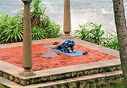 Yoga by the sea in Karela