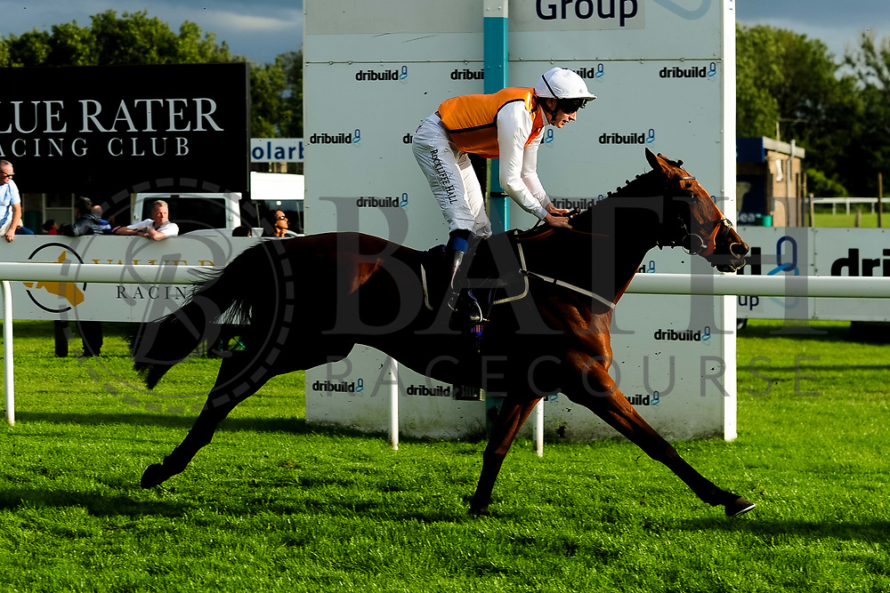 Royal Flag ridden by Ben Robinson and trained by Brian Ellison in the Kingstone Press Apple Handicap (Value Rater Racing Club Bath Summer Stayers Series Qualifier)(Class 5) race.  - Ryan Hiscott/JMP - 17/08/2019 - PR - Bath Racecourse - Bath, England - Race Meeting at Bath Racecourse